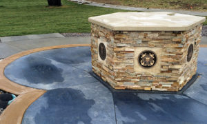 """Tuesday at 2 p.m. the sculpture """"Sacrifice and Resolution"""" will be unveiled in a Hefley Park ceremony in Rangely, honoring all past and current members from Rio Blanco County who have ever served in the Armed Forces."""