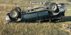 Five Meeker residents were seriously injured on Nov. 19 in a one vehicle rollover accident on Highway 64 about 4.5 miles west of Meeker. None of the victims suffered life-threatening injuries.