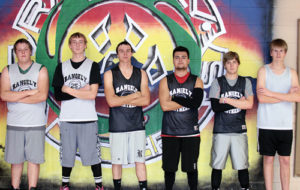 The Rangely High School Panthers' boys basketball team will open its season tonight in Meeker against Moffat County at 6 p.m. Jeremy Cantrell is the new head coach at Rangely, and the Panthers will be led this season by seven seniors: Layne Mecham, Mitchell Webber, Colt Allred, Freddie Ruiz, James Scoggins
