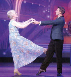 Meeker's Elaine Jordan and her professional partner Christian won their ship's 'Dancing With the Stars at Sea' competition on the Holland America line.