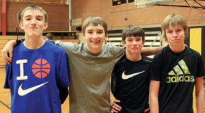 The best boys' team was the Dynamic Dudes, consisting of Cale Burke, Gavin Garr, Brennan Jensen and Steven Walsh. Local charities like the Meeker Animal Shelter, Meals on Wheels, the Lions Club and the MHS Scholarship fund benefited from the tournament.