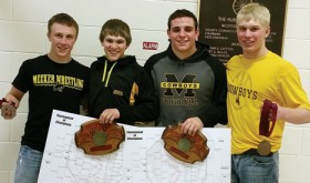 Meeker's Harvey, Shelton win weight classes in Tournament of Champions