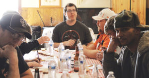 """Along with Sunday's big NFL game, the Rangely Elks Lodge held its annual chili cook-off and then fed members and the public. The judges were Dee Kenney, Melva Woodley, John Broderick, Derek Stolworthy, Micheal Dillion, Tywayne DeCuir and Cody Reed. Winner of the """"hot"""" chili was Teresa LeBleu and second place was Ross Alire. """"Other"""" winner was the team of Leilanie and Rob Morgan; second went to Exalted Ruler Don Reed."""