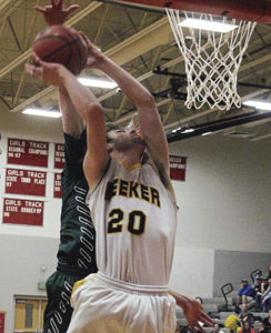 """The MHS boys open play today at 10:15 a.m. for the first round of the 2015 2A State Basketball Tournament in Pueblo as the No. 5 seed in the state. Their opponent this morning is the No 4 seeded Simla team, which MHS head coach Klark Kindler calls """"long and athletic,"""" adding that his Cowboys are """"ready for anyone."""""""