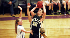 "According to Meeker girls' basketball coach Greg Chintala, sophomore Reese Pertile ""has really stepped up"" her game. Pertile scored 20 points against Hayden, then 18 against West Grand and she pulled down nine rebounds. Meeker will play Ignacio in the Region 3 tournament, Friday at 3 p.m., at Grand Junction Central High School. Like the games against Hayden and West Grand, the lady Cowboys must win in order to advance to the regional championship game and qualify for the state tournament."