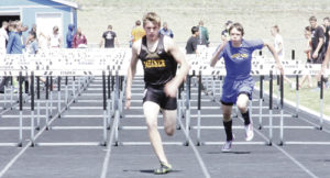 "According to Meeker High School track coach John Strate, Jacob Henderson continues to improve his time in the 110-meter hurdles and impressed him after clearing 5-6 in the high jump. ""Jake's high jump was impressive considering it was his first time competing in the event,"" Strate said. The Cowboys will compete in Rangely on Saturday."