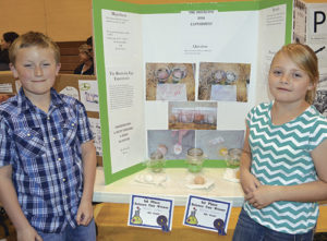 Fourth grade winners were Kenzie Varner and Kasen LeBleu.