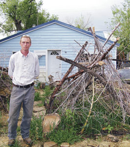 Rangely gardener Jeremy Coleman's unusual garden got him into trouble with his neighbors and the Rangely code enforcement officer. Now Coleman is working with the town to keep his unique garden minus a few hazards that existed before.