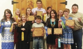 The Rio Blanco County Senior 4-H Livestock Judging Team completed its 2015 season in top form on Friday in Montrose and went on Saturday to judge the 69th annual Gunnison County Livestock Judging Contest on Saturday.