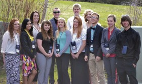 Recently, the Rangely High School chapter of the Future Business Leaders of America competed at state. Eleven competed in a variety of events:  Breanne Baker in public speaking; James Scoggins in client services; Rebecca Gillard in spreadsheet applications; Sierra Brannan in electronic career portfolio; Marielle Ivie in desktop publishing; McKenzie Webber in FBLA principles and procedures; Marshal Way competed in digital design and promotion, placing in the top 10;  and Dawn Stephens also placed in the top 10 in client services; Savannah Nielsen competed in word processing and placed fifth at state; Zach Glasgow competed in word processing, placing third, and he will now represent Rangely High School and Colorado at nationals in Chicago in June.