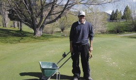 Scott Bowman is the new greenskeeper this year at Meeker Golf Course. The long-time resident of the Meeker area has definite plans on how to improve conditions on the local course and he has ideas on how to promote additional play from out-of-town golfers in Meeker.
