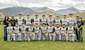 "The Meeker High School baseball team ended its season in the 2015 District tournament after a 6-2 loss to the Ignacio Bobcats. ""We played well, we just never could get the bats going,"" head coach Jason Browning said. ""I'm proud of the season we had (6-13). We keep taking steps in the right direction. We competed well both in our league and outside of it."" Team members in the front row are: Ty Gibson, Doak Mantle, Cooper Meszaros, Noah Eichman, Trapper Merrifield, Uri Goedert, Hunter Garcia, Sheridan Harvey, Garrett Frantz and Cody Nielsen. In the back row are: manager Paige Jones, coach Brian Merrifield, Matt Frantz, Eli Newman, Kash Atwood, Nick Burri, Logan Hughes, Jake Nielsen, Cade Rowlett, Tony Collins and coach Jason Browning."