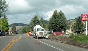 Meeker's Market Street work nears completion in spite of rain delays