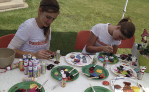 Rock painting is one of many activities taking place at Meekerpalooza on Saturday at Ute Park. There are several games and competitions, food and refreshments, music, art and other activities taking place at the event, which has been moved from Meeker Town Park to just west of Meeker at Ute Park, where the Meeker Sheepdog Trials are held.