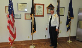 Several people drop in as VFW and Ladies' Auxiliary, Lions and Legion host open house
