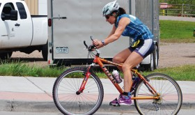 The Eastern Rio Blanco Metropolitan Park and Recreation center in Meeker hosted triathlons of two lengths during the Meekerpalooza festivities on June 6, with the competition running between the Meeker Recreation Center and Ute Park. The events consisted of swimming, bicycling and running.