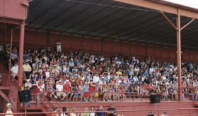 "The grandstands at the Rio Blanco County Fairgrounds were packed for a number of events last year during Range Call. A number of events are scheduled at the fairgrounds again, highlighted by ""The Pageant,"" which is the re-enactment of the Meeker Massacre, along with rodeos and other events."