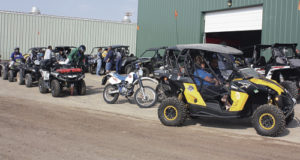 The Rio Blanco County Fairgrounds, like last year, will be the base camp for the annual OHV workshop and rendezvous now underway in Meeker, continuing through the weekend. Seventy-five folks are expected at the workshop and more than 150 riders are expected through the area.