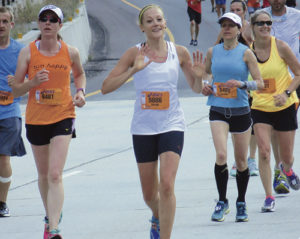 Natalie Morlan of Meeker ran in the Utah Valley Marathon in Salt Lake City on June 13.  Morlan's results overall had her finishing 534th out of 1,145 total runners; for women, she was 199th of 530 runners; and in her division, she was 23rd of 60 runners.