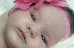 Nicholas and Lindsey Cook are pleased to announce the birth of their daughter, Kinslee Brooklyn Cook, at 11:55 a.m. on July 8, 2015. Kinslee weighed 9 pounds, 12 ounces and was 20 1/2 inches long. The baby's maternal grandmother is Roxy Taylor of Meeker. Maternal great-grandparents are Bob and Ruby Crawford of Grand Junction. Paternal grandparents are Mike and Lisa Cook of Meeker. The paternal great-grandparents are Melvin and Joann Barley of Meeker and Leota Cook of Meeker. Among her loving family, Kinslee was welcomed home by her loving big sister, Aubree Sofia Cook.