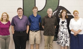 The Rangely School District has six new certified teachers within the district this school year, from left to right are: fourth grade teacher Kayla Newbanks; fifth grade teachers Corey Hale; third grade teacher Matthew Hunteer; high school English teacher Brandon Bremer; first grade teacher Rebecca Moseley; and kindergarten instructor Annette Heil. Classes began Monday at Rangely Junior/Senior High School and Wednesday at Parkview Elementary School.