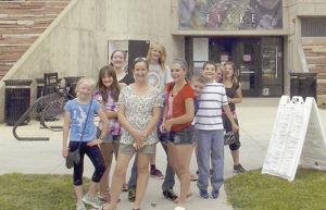 MHS drama students in Boulder