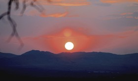 One of the only good things about the fire season throughout the West is all the smoke in the air makes for some beautiful, picturesque sunrises and sunsets in the downwind regions. Above, this sunset was photographed on Sunday evening near Rangely.