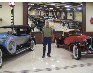 Anxious classic car fans will get a sneak peek at Bud Striegel's Rangely Automotive Museum this weekend on Sunday from 2:30-5:30 p.m. and Monday from 10 a.m.-1 p.m. and from 4-7 p.m. Striegel will have the museum's many classic cars, which range from a 1870s bicycle and 1915 Woods to an 1959 El Camino, open for tour. Most vehicles in the museum come with a colorful history including a beautifully restored green town car was once owned by the Warner Brothers movie production studio and featured in movies, to a car procured from a flamenco dancer in Argentina.