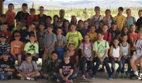 Barone sixth graders back from camp