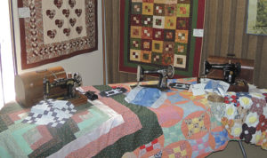 These were some of the quilts on display during the 2014 PEO Quilts in the Country Show in Meeker. The 2015 PEO Quilts in the Country show has been set for Friday and Saturday, running during the Meeker Classic Championship Sheepdog Trials. The quilts will be on display from 1 p.m. to 6 p.m. on Friday and from 9 a.m. to 5:30 p.m. on Saturday at the Fairfield Center, 200 Main. Old and new quilts are the center point for this show, featuring dozens of quilts made by mostly local hands. The proceeds from the $3 entry fee will benefit educational assistance and opportunities for women. In addition to the quilts on display, the PEO is again holding one of Meeker's favorite fall events with its Country Bake Sale.