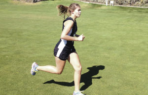 Meeker High School runner Julia Eskelson posted a 22:13 time in the Eagle Valley Cross Country Invitational at the Gypsum Creek Golf Course on Saturday, good enough for 32nd place overall among 178 runners. Eskelson was the top Cowboy runner for the girls while Briar Meszaros crossed the line in 24 minutes flat for a 70th place finish out of the large field.
