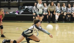 Panther defense overcomes Meeker Cowboys volleyball