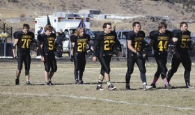 Cowboy gridders end season with loss in second game of Colorado state playoffs