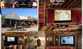 The Rio Blanco County Historical Society is getting behind the new Old West Heritage Cultural Center on Park Street in Meeker with the Old West Cultural Center Committee. Above are artist concepts of what may be included in the center when the updating and renovation are complete. The committee also has listed its 2015 accomplishments and 2016 plans.