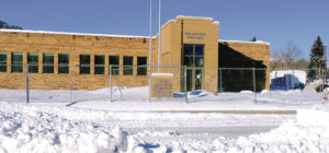 Although it is draped in several inches of snow, the new Rio Blanco County Justice Center is nearing completion at its new location on Main Street in Meeker. Except for the landscaping, which will be done in the spring, the work on the building's exterior is complete and the entire center should be finished in time for an open house and tours in mid-March. The dispatch center and jail will be the first two departments to be moved into the center.