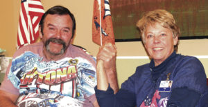 Rangely District Hospital long-term care patient Don Worrall and registered nurse Irene Kilbane, along with R.N. Wendy Campbell, will travel to NASCAR'S Daytona 500 in Daytona Beach, Fla. this February. The trip, which Kilbane planned after Worrall expressed a lifelong dream to attend the race, has been largely funded through a GoFundMe campaign. To donate, go to www.gofundme.com/donworrall