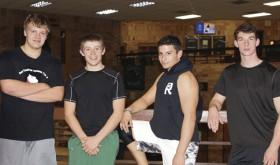 Panther senior wrestlers…