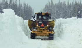 Snowy roads keep County Road and Bridge crews busy meeting challenges