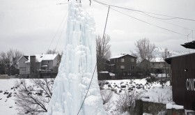 Ice tower…