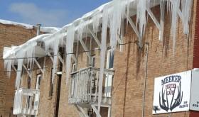 Big icicles…