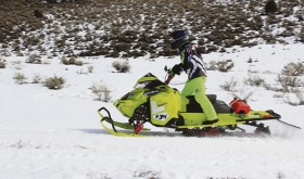 Phil Vallem of Craig won the inaugural White River Rumble, a 70-mile snowmobile race around the Flat Top Mountains beginning and ending at Lake Avery. Ten racers took on the grueling mountain challenge in what organizers hope will become an annual event.