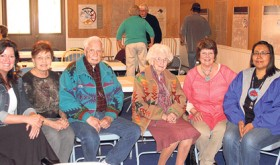 "Nearly 50 people attended the quarterly luncheon of the Rio Blanco County Historical Society, including Lynn Lockwood, Bev Steinman, Joe Sullivan, Ethel Starbuck, Ellene Meece and Kerry Cesspooch, vice president of the Uintah-Ouray Historical Society and a descendant of Colorow. The luncheon, titled; ""Honoring White River Ute Heritage,"" was held in the Old West Heritage Cultural Center in Meeker, and a conversation about ways to pass on stories to our children and how to collaborate our heritage was positive. One idea was to have a memorial horseback ride between Fort Duchesne, Utah, and Meeker."
