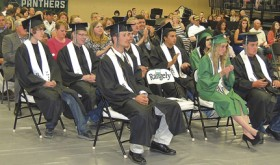 Rangely High School Class of 2016 graduates 19 students