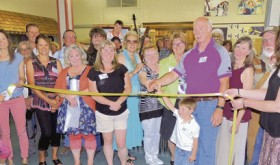 Ribbon cuttings…
