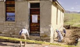 Work underway on Coal Creek School renovation