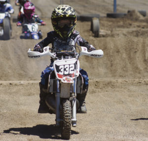 The ups and downs, slick surfaces and heavy sand banks didn't seem to bother Holt Pelloni of Meeker as he took part in Saturday's Meeker Moto Mayhem inaugural dirt bike races at the Rio Blanco County Fairgrounds. Lots of riders from young kids to adults took part in the event, which may become part of a Western Slope circuit that is headquartered in Montrose and includes races in Montrose, Delta, Hotchkiss, Rifle and Eagle.