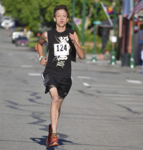 There were 20 runners in the Eastern Rio Blanco Metropolitan-sponsored Run for Your Life 5K (3.1 miles) on July 4. The winner was Meeker High School distance runner Austin Russell, who ran away with the 2016 Range Call event. He had a time of 18.57 seconds, more than 45 seconds ahead of second place runner Marty Casey, who won the men's 30 to 39-year-old group with a time of 19:42, and third place Terrance Casias, who turned in a 20:33 and who captured the 19 to 29-year-old group.
