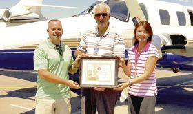 Dave Cole of Meeker earns Wright Brothers' Master Pilot Award—highest given by FAA