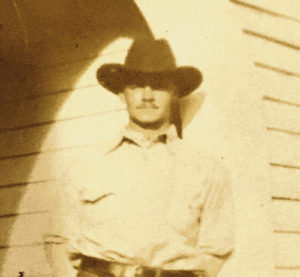 """This is a photograph of """"Hermie"""" Park, as he was called, in 1930, the year he disappeared in eastern Rio Blanco County."""