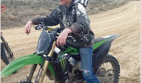 A 213-mile fundraising poker run will be held Saturday to raise funds to help cover the medical expenses of Meeker's Bradi Bland, pictured above. Bland was critically injured in a car accident in April and is undergoing long-term treatment for a traumatic brain injury.